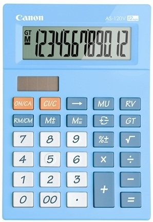 Canon kalkulačka AS-120V-BL EMEA DBL