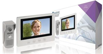 König SAS-VDP100 - videotelefon, LCD 7