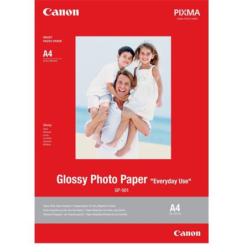 Canon fotopapír GP-501 - A4 -210g/m2 - 20 listů - lesklý