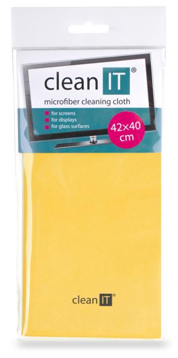 CLEAN IT čisticí utěrka z mikrovlákna, velká žlutá