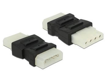 Delock Adaptér Molex 4 pin samec > Molex 4 pin samice