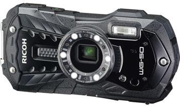 Ricoh WG-50 Black, 16MP, 5x zoom 28-140mm - outdoor fotoaparát