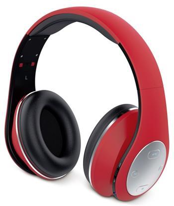 GENIUS headset - HS-935BT/sluchátka s mikrofonem/ Bluetooth 4.1/ dobíjecí/ červené