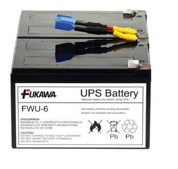 akumulátor FUKAWA FWU-6 náhradní baterie za RBC6