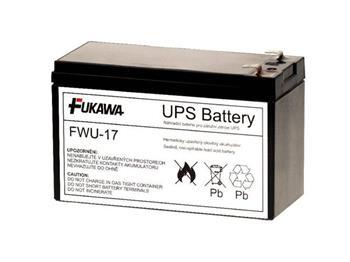 akumulátor FUKAWA FWU-17 náhradní baterie za RBC17