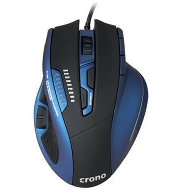!! AKCE !! Crono CM638 High-end laserová herní myš, USB , do 8200 DPI