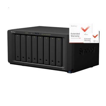 NAS Synology DS1817+ 2GB RAID 8xSATA server, 4xGb LAN, rozšířená záruka 5 let
