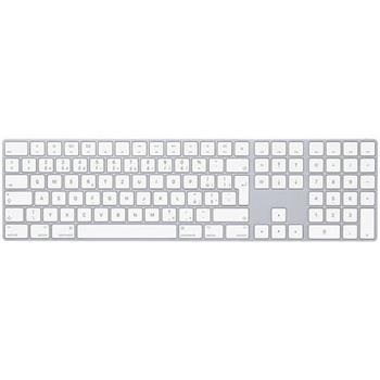 Apple Magic Keyboard s numerickou klávesnicí CZ, Silver