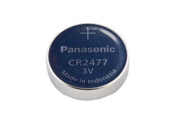 Nenabíjecí knoflíková baterie CR2477 Panasonic Lithium 1ks Blistr