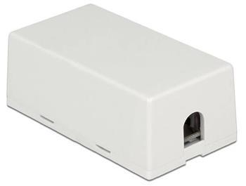 Delock Spojovací krabice pro síťový kabel Cat.6A LSA UTP