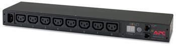 APC Rack PDU, Metered, 1U, 10A/230V, C14 ->(8) C13