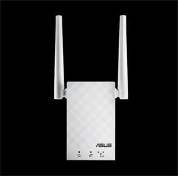 ASUS RP-AC55, Rozšiřovač pokrytí, Dual band Wireless AC1200 GbE LAN