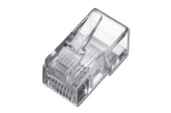 Digitus Modular Plug, for Flat Cable, 6P6C Unshielded 1 ks