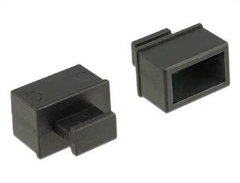 Delock Prachová záslepka pro SFP slot s uchopením 10 kusů černá