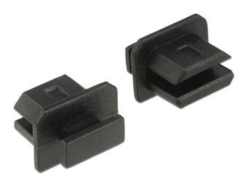 Delock Prachová záslepka pro mini Displayport samice s uchopením 10 kusů černá