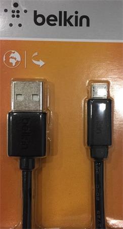 Belkin kabel USB 2.0 A/microUSB řada standard, 0,9m