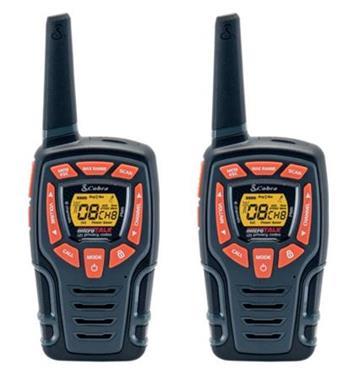 Cobra AM845 - profi PMR vysílačka, 10 km, 2 ks