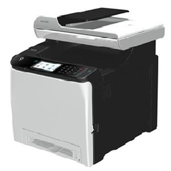 RICOH SP C260SFNw - 20 PPM, Color MFC with print, copy, scan, fax, 128/256 MB, LAN, Wi-Fi