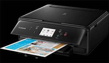 Canon PIXMA TS6150 - PSC/Wi-Fi/WiFi-Direct/BT/Duplex/PictBridge/4800x1200/USB black