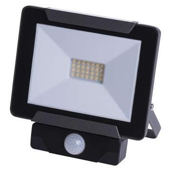 Emos Reflektor LED 20W/170W IDEO s PIR, NW neutrální bílá, IP54, 1600 lm