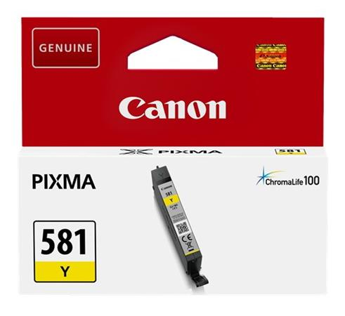 Canon cartridge INK CLI-581 Y