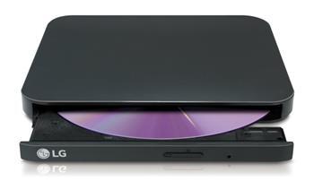 LG GP95EB70 Externí Slim DVD vypalovací mechanika černá
