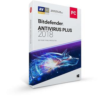 Bitdefender Antivirus Plus 2018 1 uživatel na 1 rok