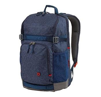 "WENGER STREETFLYER - 15,6"" batoh na notebook a tablet, denim"