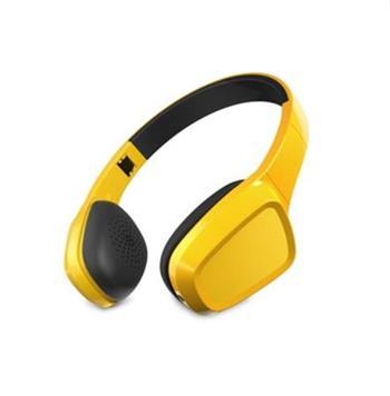 ENERGY Headphones 1 Yellow Mic, stylová sluchátka, audio jack 3,5mm, 93 ±3 dB