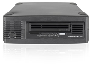 Overland-Tandberg LTO6 HH SAS External Tape Drive Kit, Model #2260