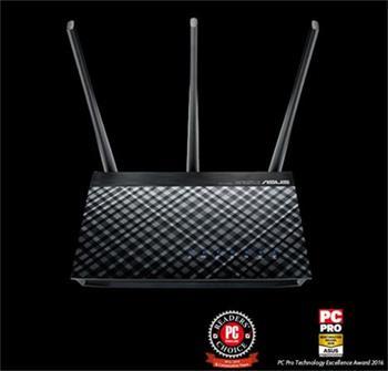 ASUS DSL-AC51 AC750 Dual-Band ADSL/VDSL Wi-Fi Modem Router with Parental Controls