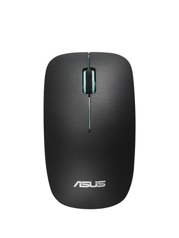 Asus WT300 RF myš černá (zelený scroll)