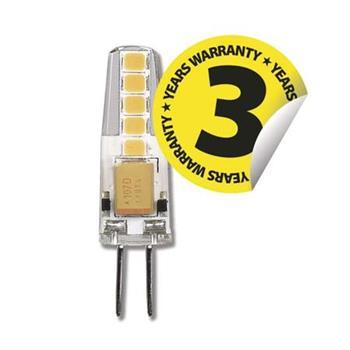 Emos LED žárovka JC, 2W/22W G4, WW teplá bílá, 210 lm, Classic A++