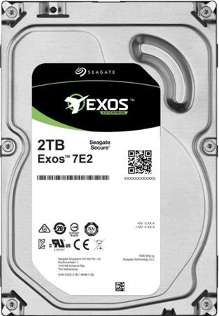 Seagate Exos 7E2 HDD, 2TB, 3.5