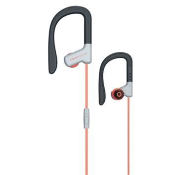 ENERGY Earphones Sport 1 Red, sportovní sluchátka s mikrofonem, 3,5mm jack, 93dB ± 3dB