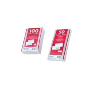 SmartLine Obálka bílá,samolepící přehybová 1000ks 12,5 x 12,5 cm / 90g/m2