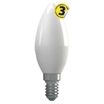 Emos LED žárovka CANDLE, 4W/30W E14, NW neutrální bílá, 330 lm, Classic A+