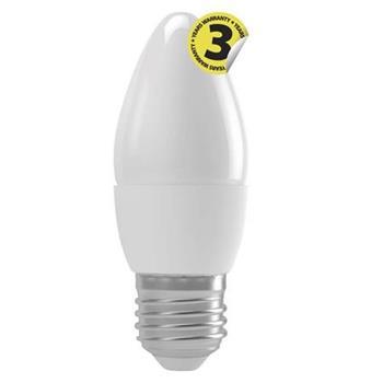 Emos LED žárovka CANDLE, 4W/30W E27, WW teplá bílá, 330 lm, Classic A+