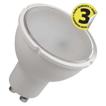 Emos LED žárovka MR16, 8W/55W GU10, CW studená bílá, 720 lm, Classic A+