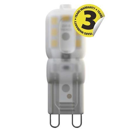 Emos LED žárovka JC, 2.5W/23W G9, WW teplá bílá, 225 lm, Classic A++