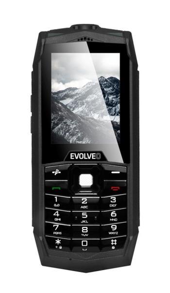EVOLVEO StrongPhone Z1, vodotěsný odolný Dual SIM telefon, výkonná svítilna