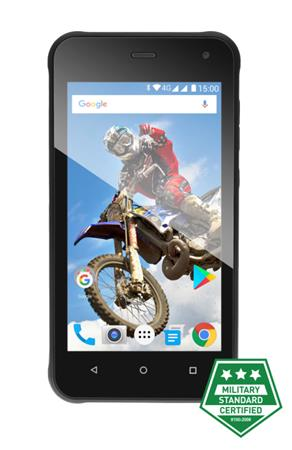 EVOLVEO StrongPhone G2, vodotěsný odolný Android 7.0, Quad Core smartphone, Dual SIM