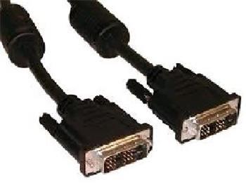 Kabel C-TECH přípojný DVI-DVI, M/M, 1,8m DVI-D, dual link