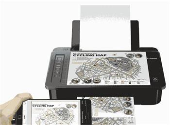 Canon PIXMA TS305- A4/Wi-Fi/AP/BT/4800x1200/USB