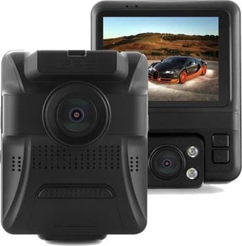 CEL-TEC E20 Dual GPS - duální palubní kamera do auta 1080p, microSDXC, 2.4