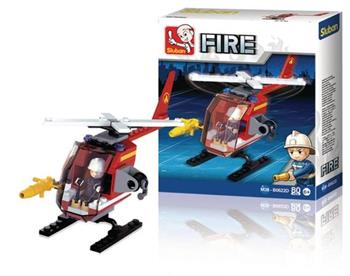 Sluban M38-B0622D - Fire Series - Helicopter