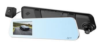 CEL-TEC M5 DUAL TOUCH - duální palubní kamera ve zpětném zrcátku, Full HD, microSDXC, 4.5