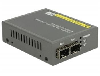 Delock Media Converter 10GBase-R SFP+ to SFP+