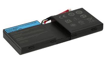 2-Power Alienware M17X 8 článková Baterie do Laptopu 14,8V 5200mAh