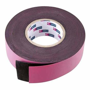 Emos páska izolační 25mm / 5m, samovulkanizační, černá